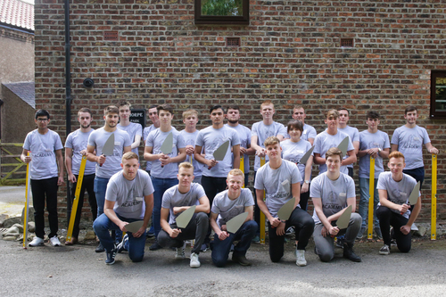 2017 intake of M&ampU apprentices