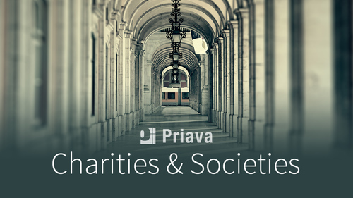 Charities & Societies invest in events