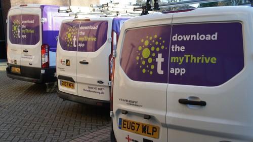 Thrive Homes&#039 Vans