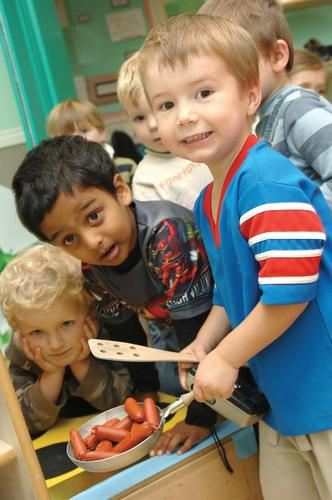 Playtime at Asquith Day Nurseries