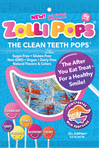 Zollipops the &#039Clean Teeth Pops&#039