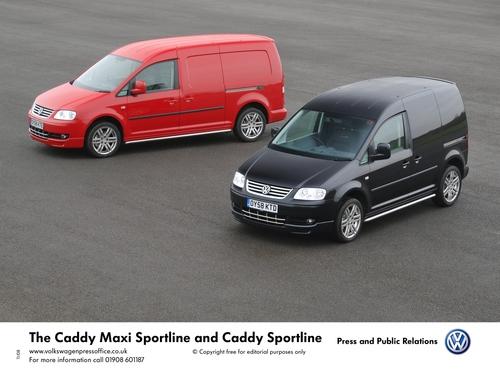 Caddy Sportline and Caddy Maxi Sportline