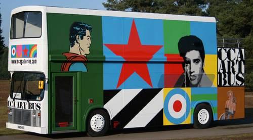 Sir Peter Blake's breathtaking 'Art Bus'