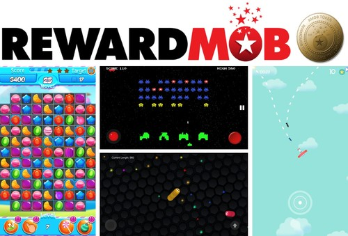 A Selection of RewardMob Games