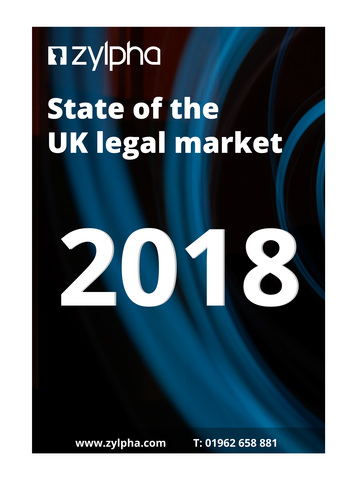 State Of The Legal Market