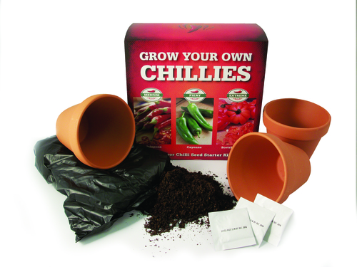 Grow Your Own Chillies