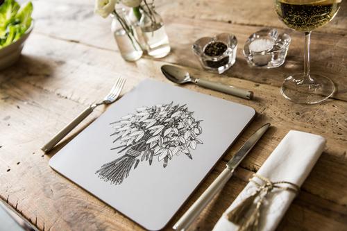 Spring Snowdrops Tableware