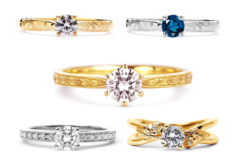 Ethical Gold Engagement Rings