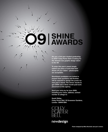 SHINE 2009 student design competition