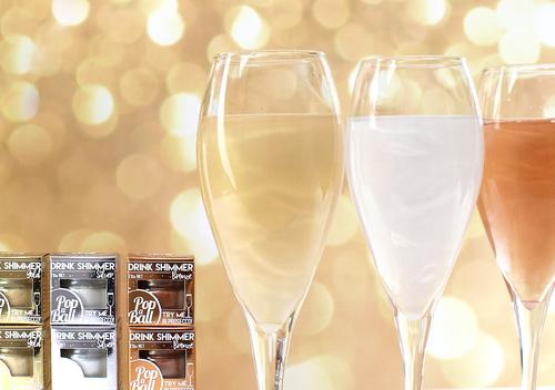 Popaball's new flavourless shimmer range