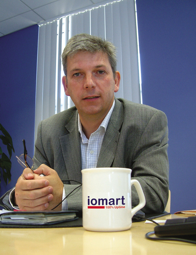Angus MacSween, CEO, iomart Group plc