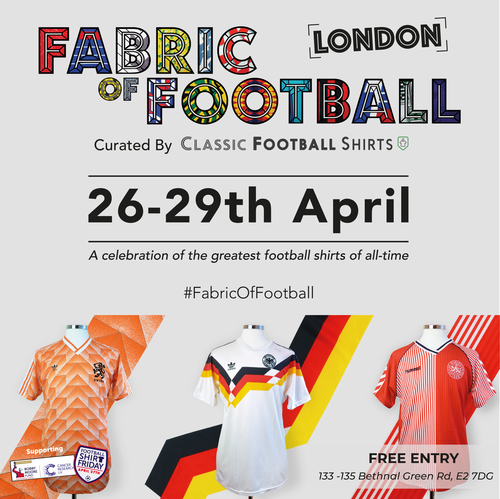 Fabric of Football London Flyer