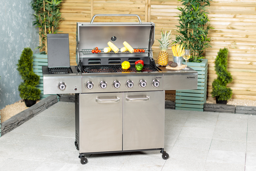 The Outback Meteor 6-Burner Gas Barbecue