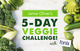 Jamie Oliver's 5-day Veggie Challenge