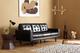 Carlton Black Mid Century Sofa - £399.99