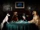 Dogs L-R Bella, Mitzi, Cleo, Freddie