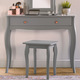 Beautify Grey Dressing Table
