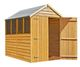Shire Overlap 5ft x 7ft Garden Shed