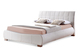 Dorado White Bed Cut Out - £349.99