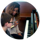 Free piano lessons at Yamaha Music Store