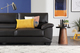 Oregon Brown Leather Sofa - £349.99