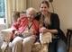 Janet (client) with CAREGiver Celia
