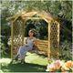 Rowlinson Dartmouth Garden Swing Seat