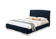 Brompton Blue Velvet Bed Cutout £349.99