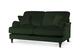 Charleston Green Velvet Sofa - £649.99