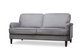 Pembroke Grey Velvet Sofa - £499.99