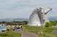 The famous Kelpies landmark in Falkirk