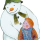 The Snowman and James wearing his scarf