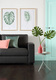Summer Pastels Mint - Mission Sofa £349