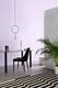 Summer Pastels Lilac - Lunar Table £149