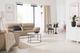 Minimalism living room Enzo sofas