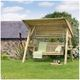 Zest4Leisure Timber Garden Swing