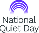 National Quiet Day logo