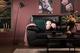 Oregon Black Leather Sofa - Save £50