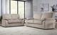 Elliot Mink Velvet Sofa Set - Save £200