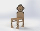Manime Tiger Cub Chair