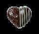 Dark Chocolate Mint Heart RRP: £2.20