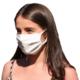 Woman wearing 2Guard face mask