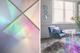 Iridescent Rainbow Diamond Light Table