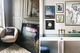 Eclectic gallery wall style hang