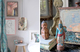 Eclectic blends of art, objet + texture