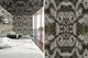 Moksha Liquorice wallpaper + lampshade
