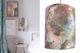 Art prints + handmade lampshade