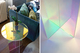 Rainbow inspired Diamond Light Table