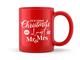 Almost Mr and Mrs Red Christmas Mug