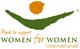 Women for Women International Logo